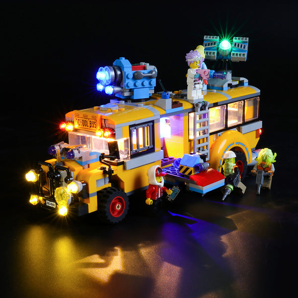 Lego Light Kit For Paranormal Intercept Bus 3000 70423  Lightailing