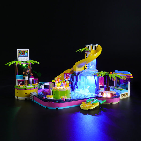 Lego Light Kit For Andrea's Pool Party 41374  Lightailing