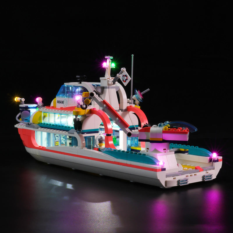 Lego Light Kit For Rescue Mission Boat 41381  Lightailing