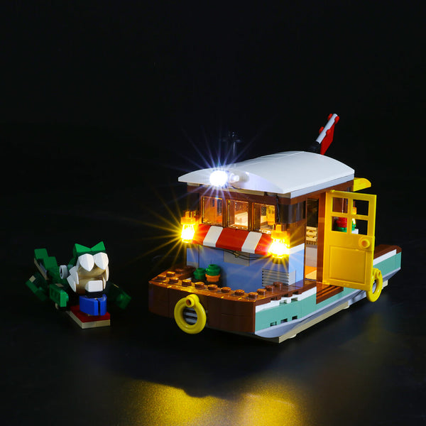 Lego Light Kit For Riverside Houseboat 31093  Lightailing