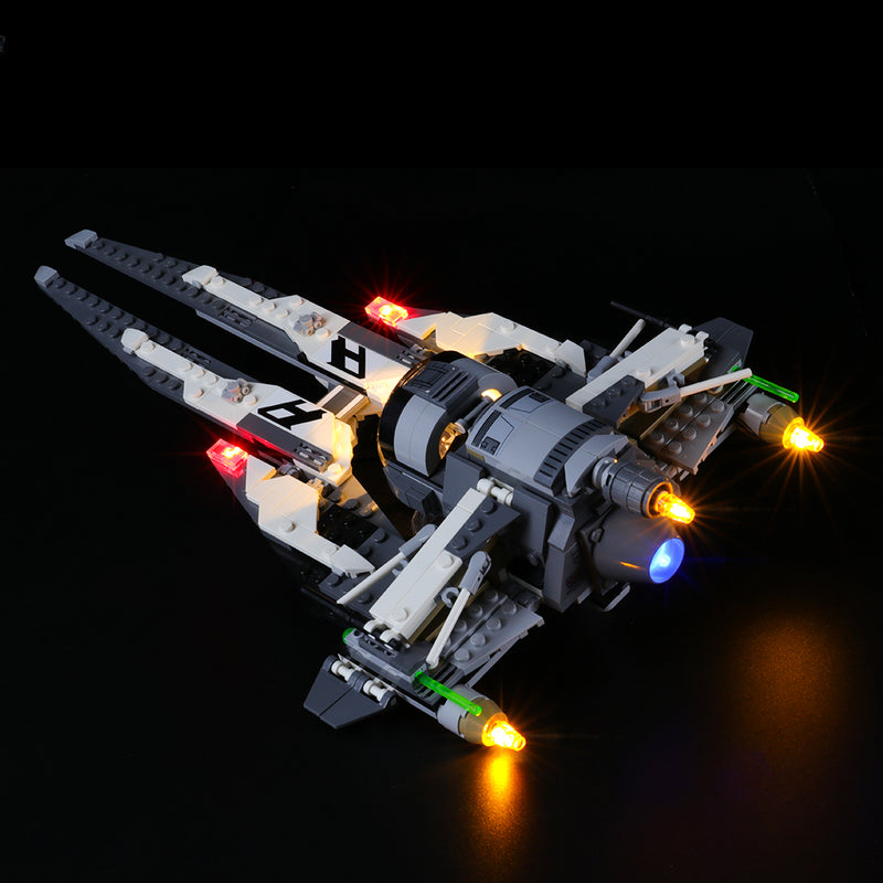 Lego Light Kit For Black Ace TIE Interceptor 75242  Lightailing