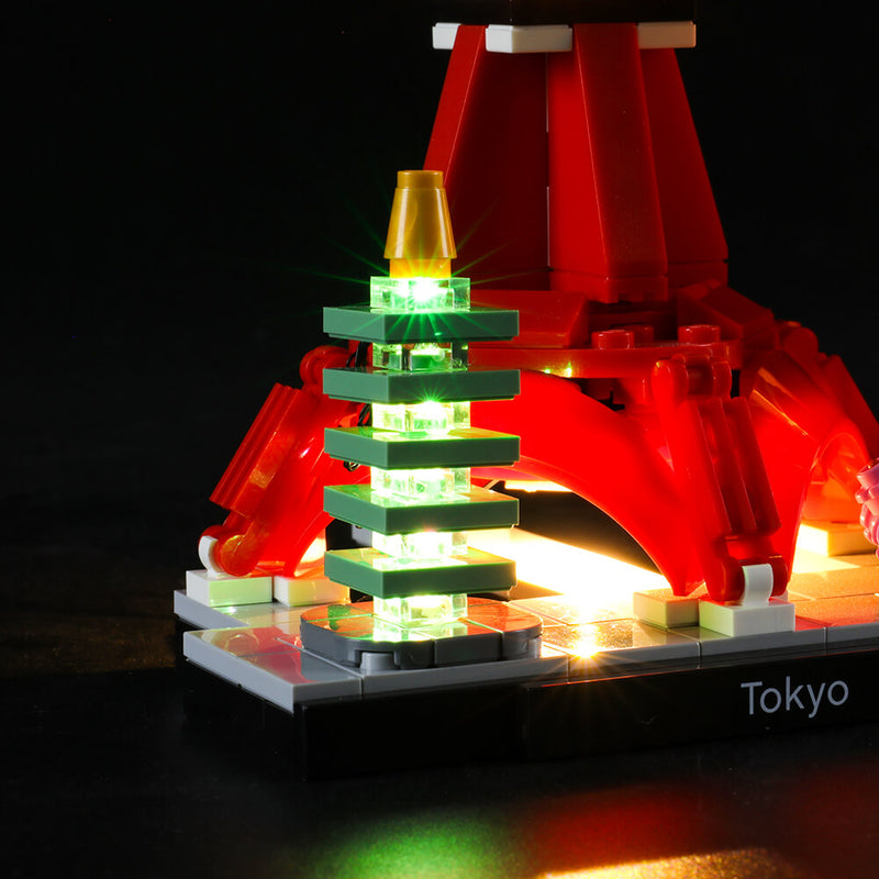 Lego Light Kit For Tokyo 21051  Lightailing