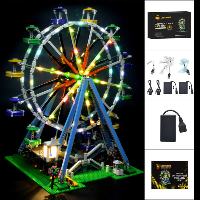 Lego Light Kit For Ferris Wheel 10247  Lightailing