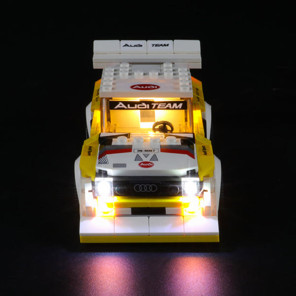 Lego Light Kit For 1985 Audi Sport quattro S1 76897  Lightailing