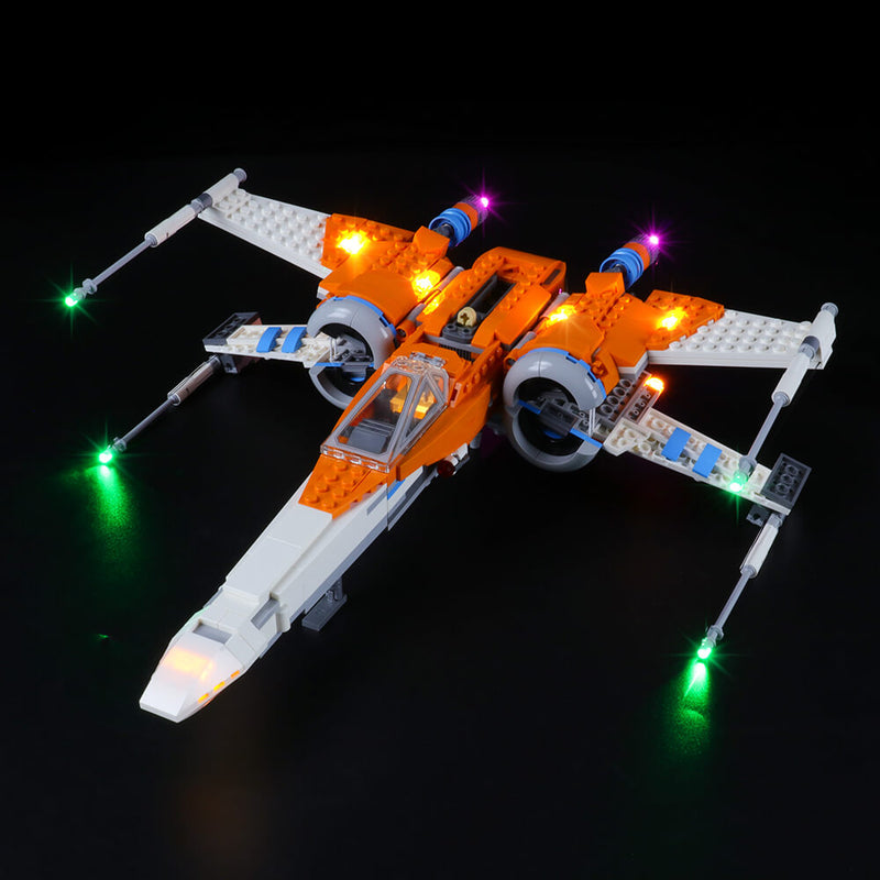 Lego Light Kit For Poe Dameron's X-wing Fighter™ 75273  Lightailing