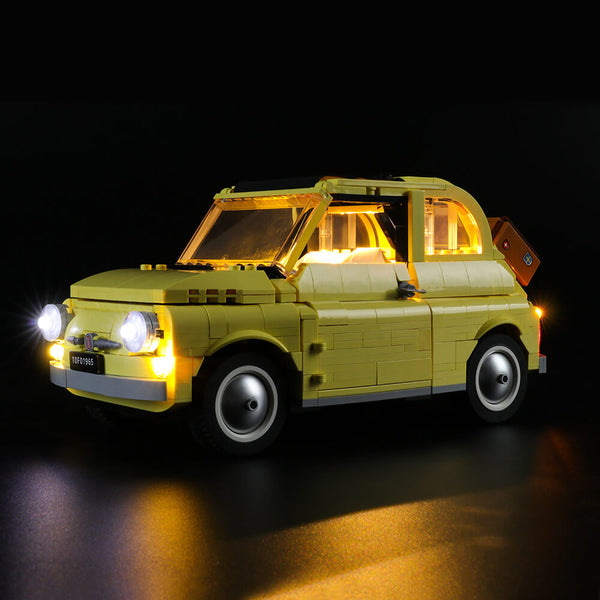 Lego Light Kit For Fiat 500 10271  Lightailing