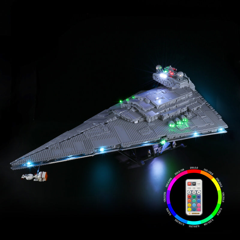 Lego Light Kit For Imperial Star Destroyer 75252(PRE-Order 25th Sept Batch)  Lightailing