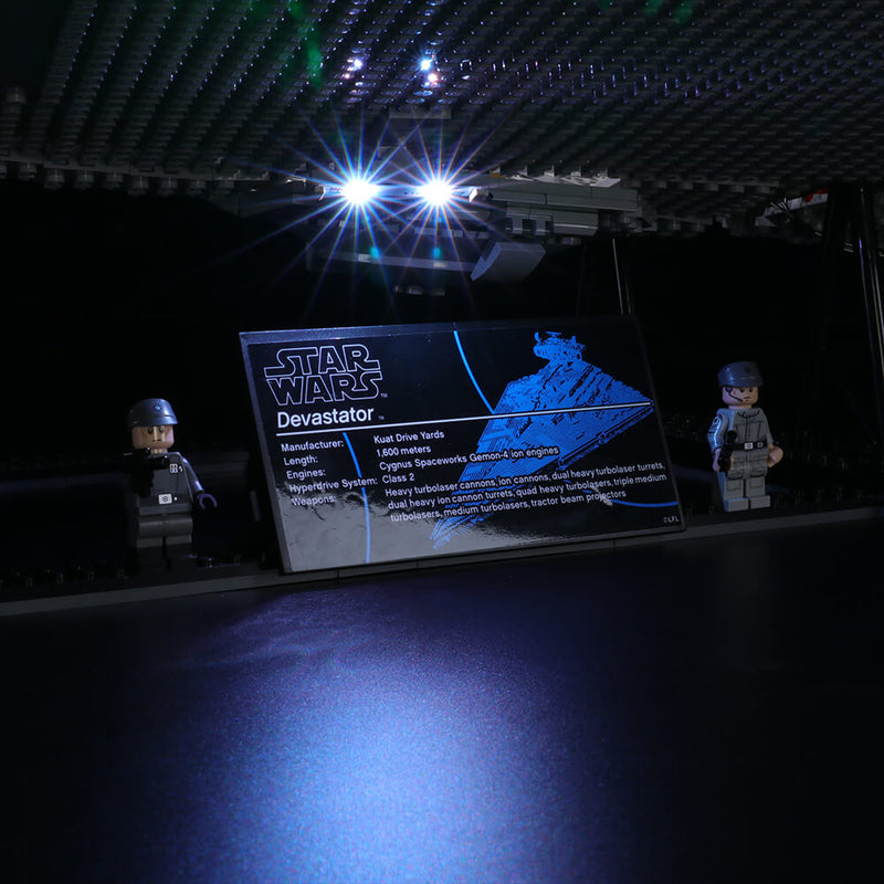 Lego Light Kit For Imperial Star Destroyer 75252  Lightailing