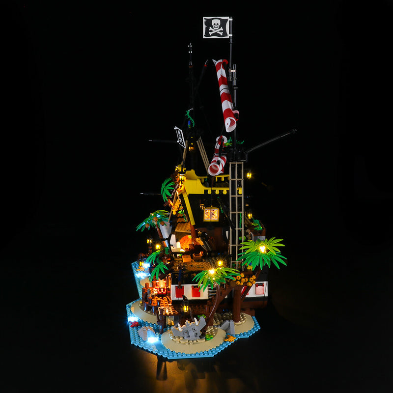 Lego Light Kit For Pirates of Barracuda Bay 21322  Lightailing