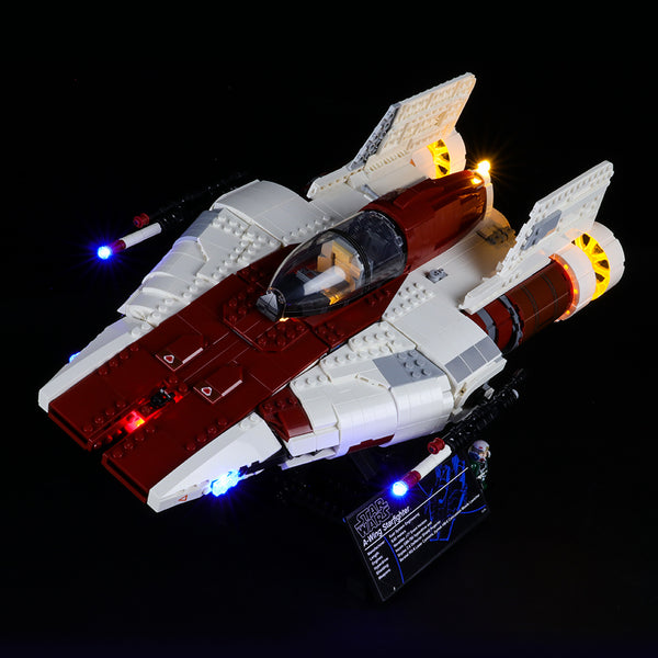 Lego Light kit For A-Wing Star Fighter 75275(Pre-Order 22nd Aug Batch)  Lightailing
