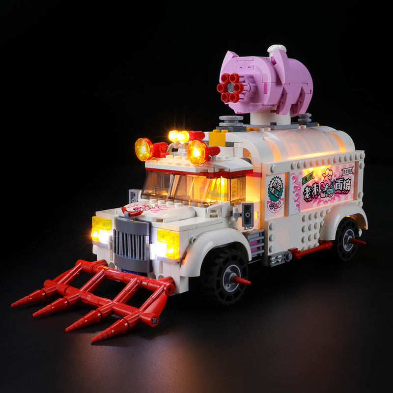 Lego Light Kit For Pigsy's Food Truck 80009  Lightailing