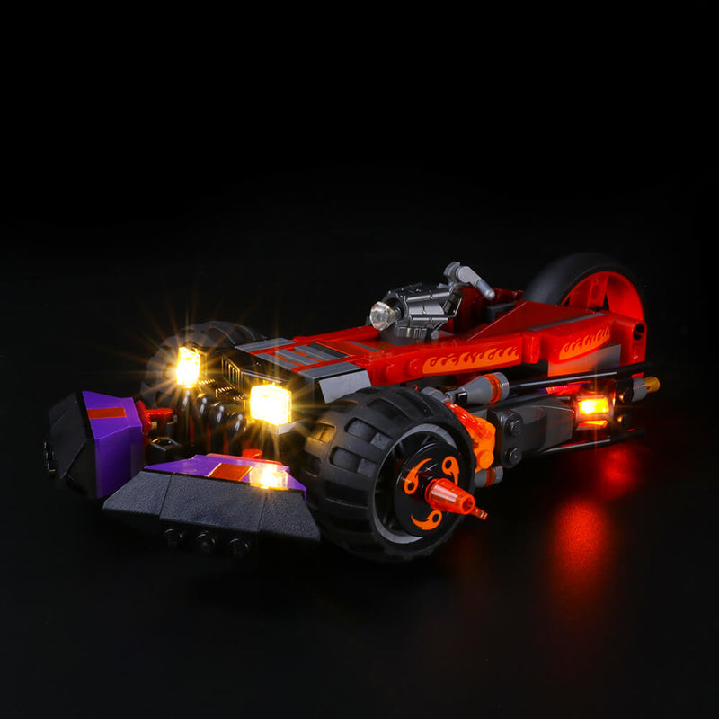Lego Light Kit For Red Son's Inferno Truck 80011  Lightailing