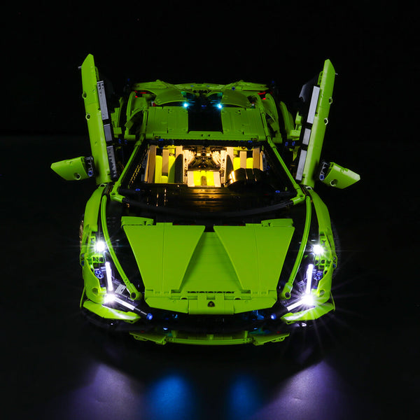 Lego Light kit For Lamborghini Sián FKP 37 42115( PRE-Order 1st Sept Batch)  Lightailing