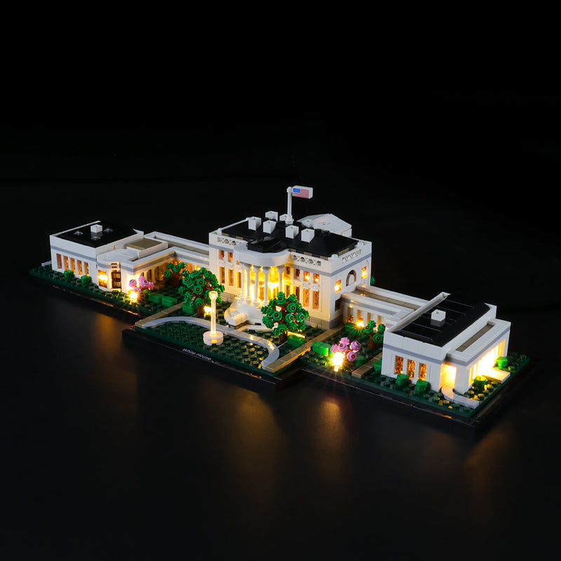 Lego Light Kit For The White House 21054  Lightailing