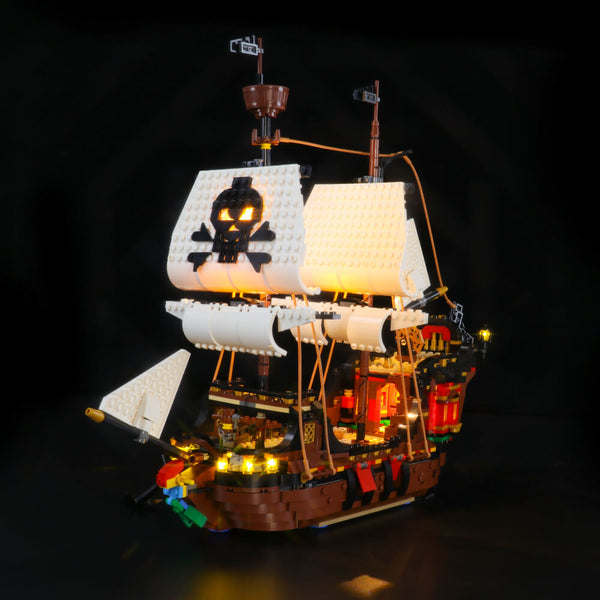 Lego Light Kit For Pirate Ship 31109  Lightailing