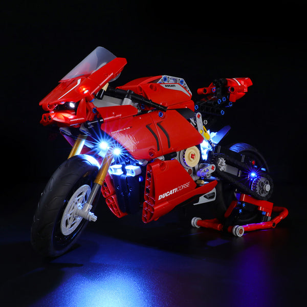 Lego Light Kit For Ducati Panigale V4 R 42107  Lightailing