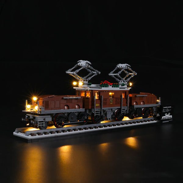 Lego Light Kit For Crocodile Locomotive 10277  Lightailing