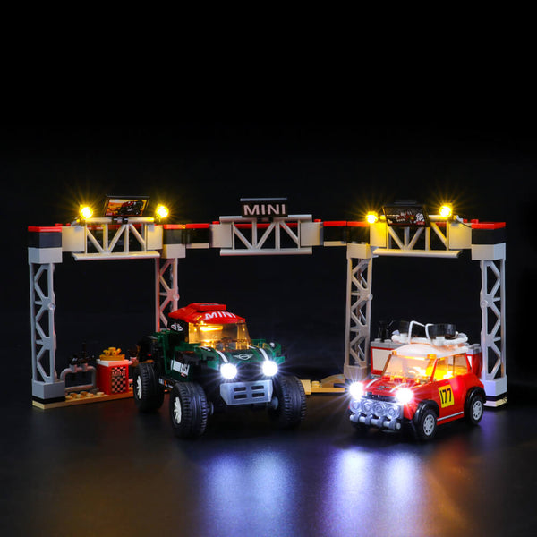 Lego Light Kit For 1967 Mini Cooper S Rally and 2018 MINI John Cooper Works Buggy 75894  Lightailing