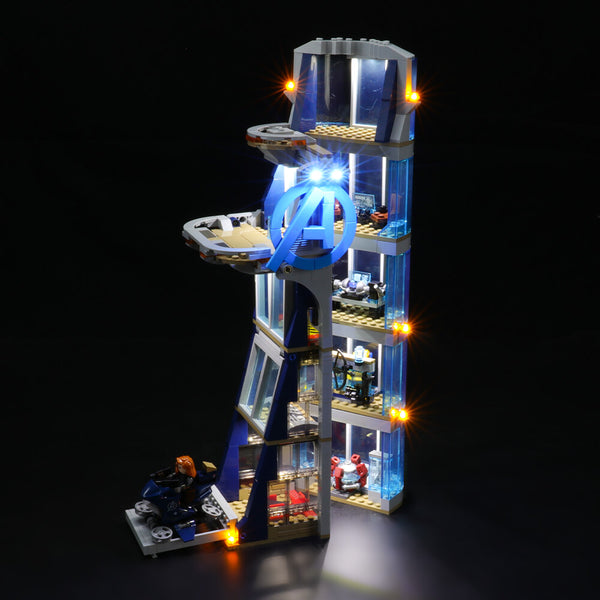 Lego Light Kit For Avengers Tower Battle 76166  Lightailing