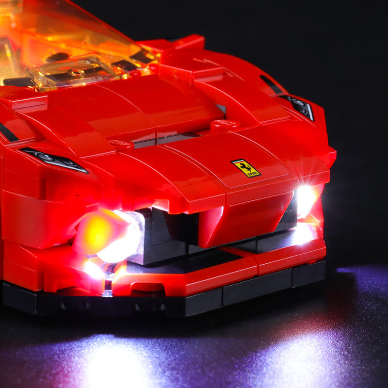 Lego Light Kit For Ferrari F8 Tributo 76895  Lightailing