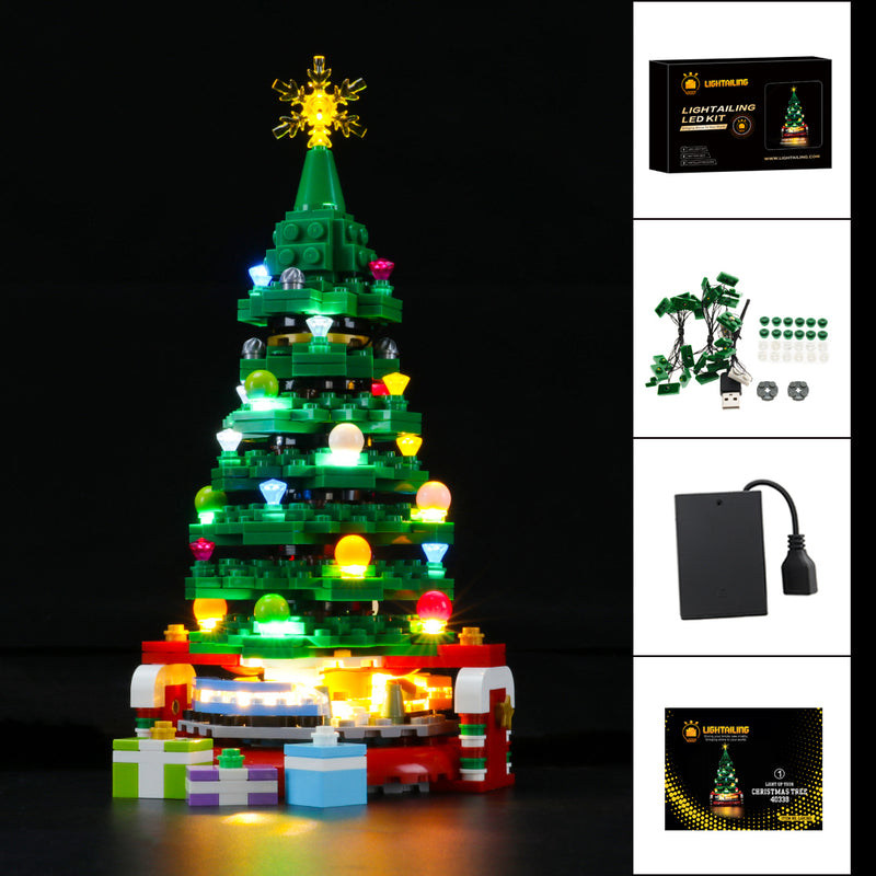 Lego Light Kit For Christmas Tree 40338  Lightailing