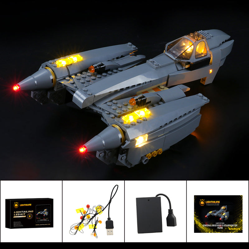 Lego Light Kit For General Grievous's Starfighter™ 75286  Lightailing