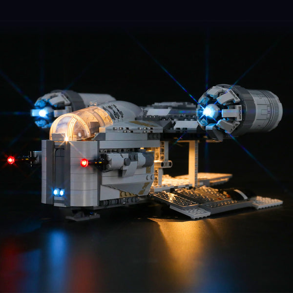 Lego Light Kit For The Mandalorian™ Bounty Hunter Transport 75292  Lightailing