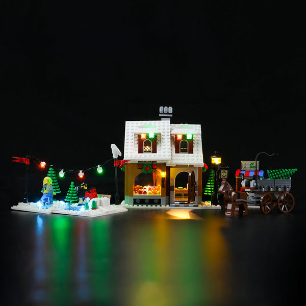 Lego Light Kit For Holiday Bakery 10216  Lightailing