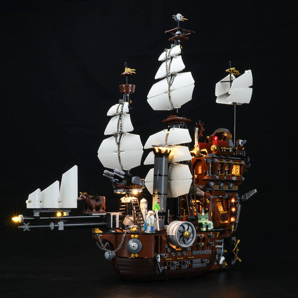 Light Kit For MetalBeard's Sea Cow 70810