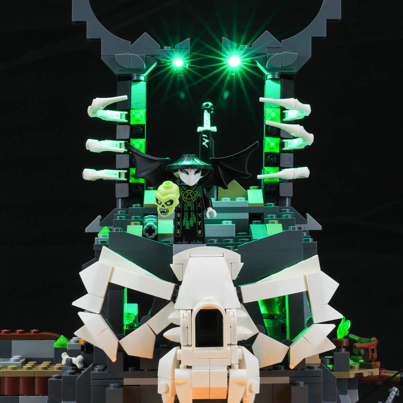 lego ninjiago green lights