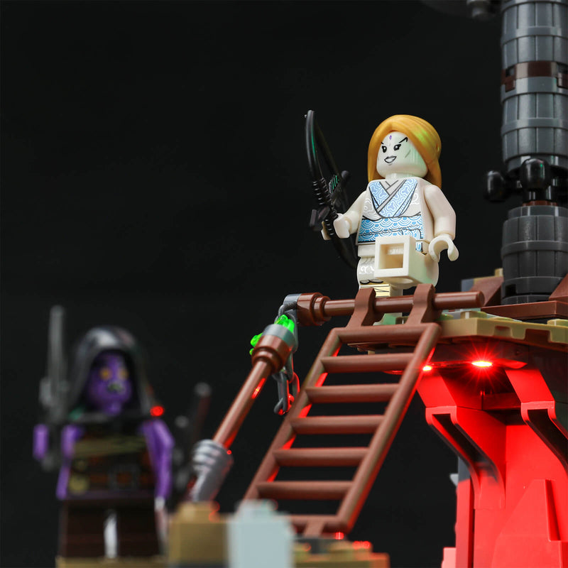 add led light to lego ninjago building set