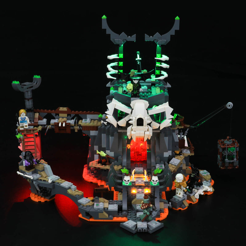 lego skull sorcerer dungeon light kit