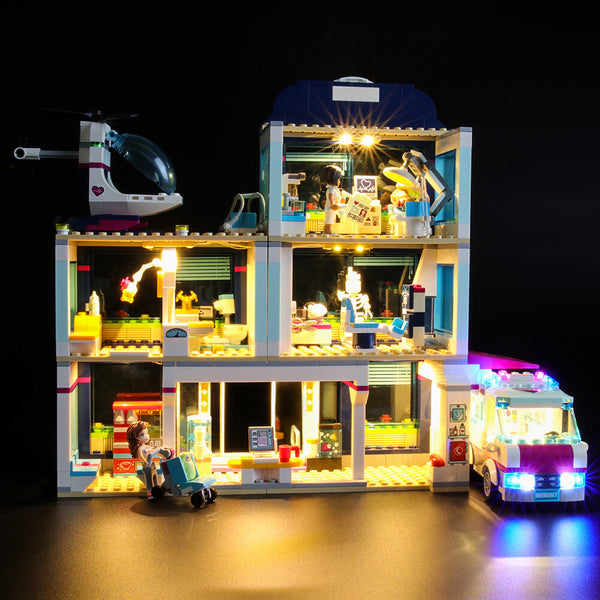 Lego Light Kit For Heartlake Hospital 41318  Lightailing