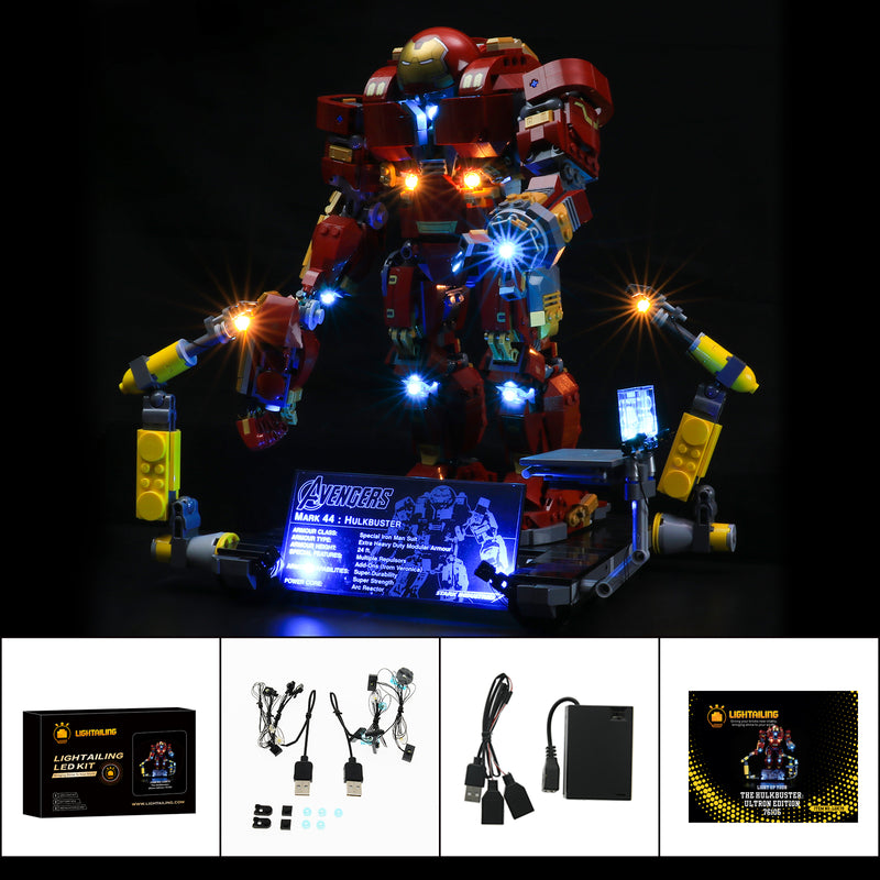 Light Kit For The Hulkbuster Ultron Edition 76105