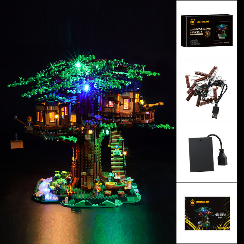 Light Kit For Tree House 21318