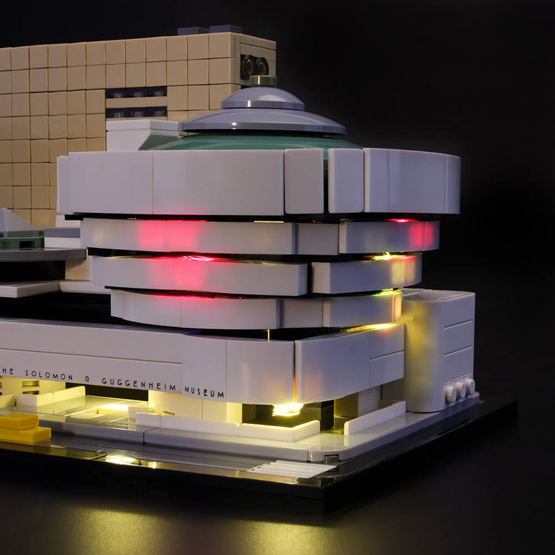 Lego Light Kit For Solomon R. Guggenheim Museum 21035  Lightailing