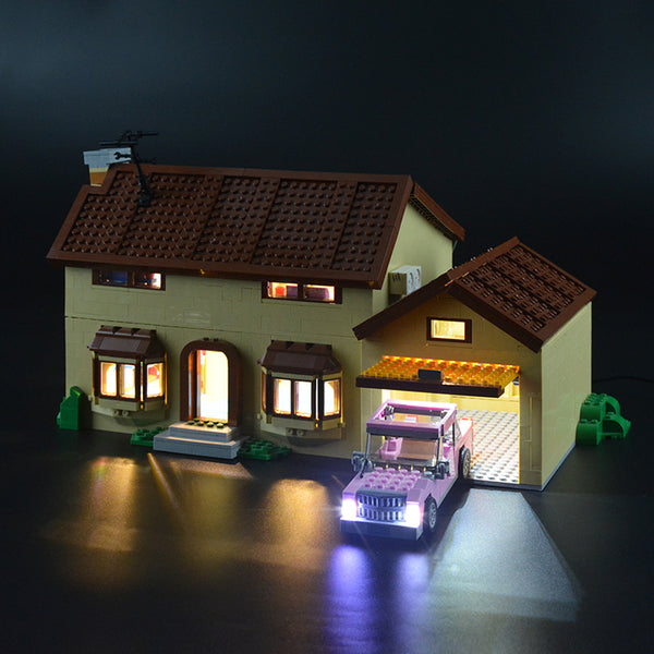 Light Kit For Simpsons House 71006