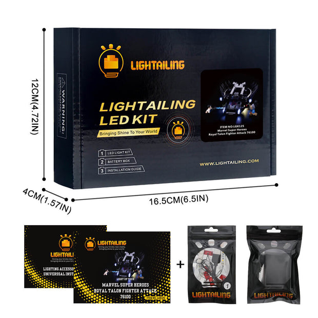 Light Kit For Royal Talon Fighter Attack 76100