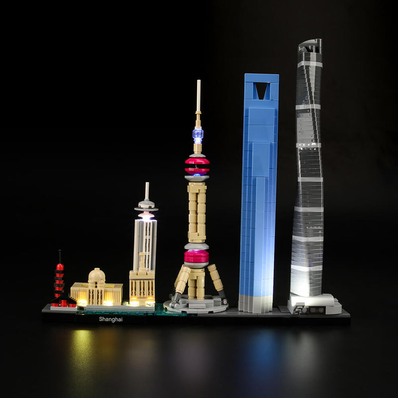 Lego Light Kit For Shanghai 21039  Lightailing