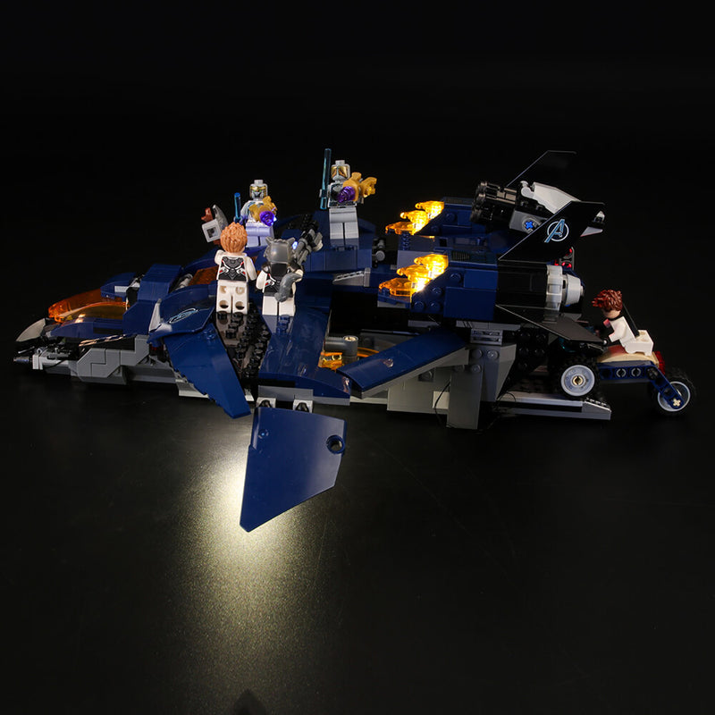 Lego Light Kit For Ultimate Quinjet 76126  Lightailing