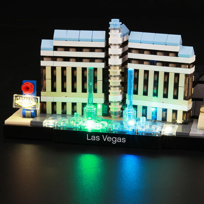 Lego Light Kit For Las Vegas 21047  Lightailing
