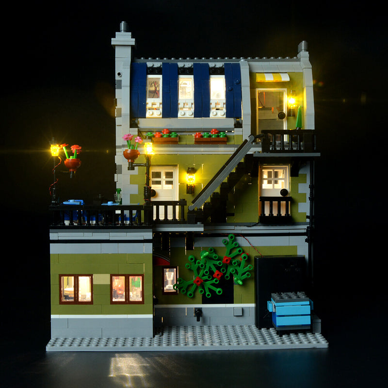 Lego Light Kit For Parisian Restaurant 10243  BriksMax