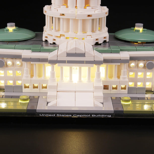 Light Kit For United States Capitol 21030