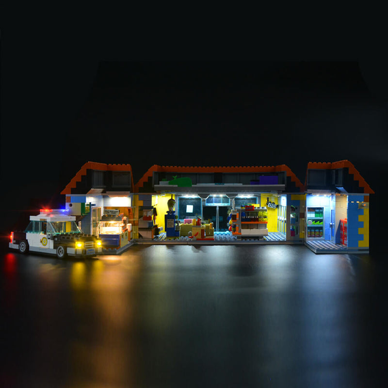 Lego Light Kit For The Kwik-E-Mart 71016  Lightailing