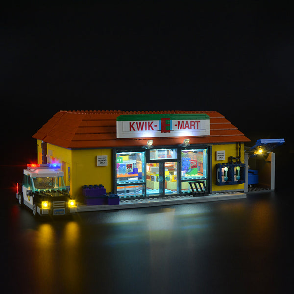 Light Kit For The Kwik-E-Mart 71016