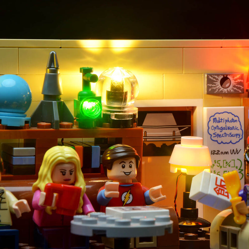 Lego Light Kit For Big Bang Theory 21302  BriksMax