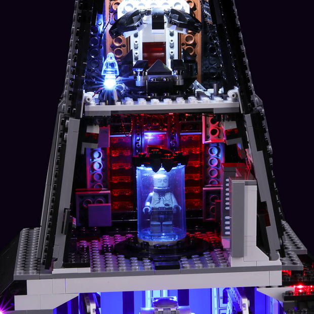 Light Kit For Darth Vader's Castle 75251