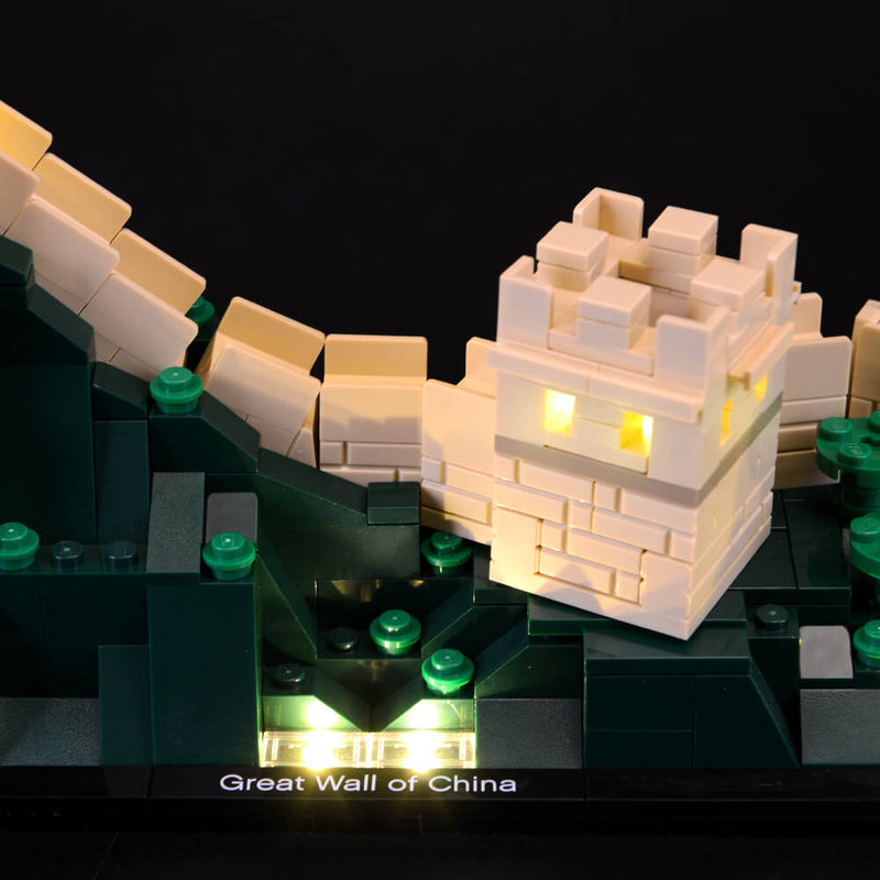 Lego Light Kit For Great Wall of China 21041  BriksMax