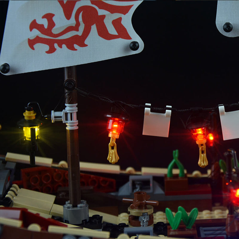 Lego Light Kit For Final Fight Of Destiny's Bounty 70618  Lightailing
