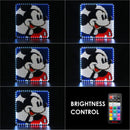 disney mickey mouse wall art lights